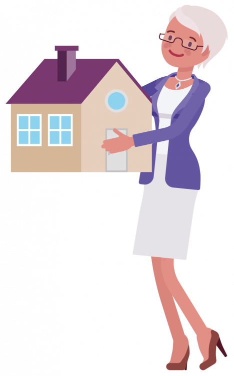 Woman & House - Looking After Assets Guide